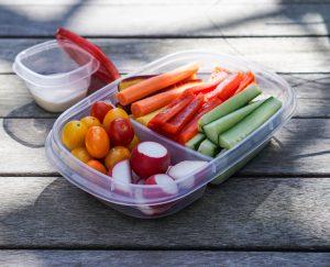 Vegetable platter, healthy eating